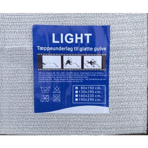 Tæppeunderlag, light