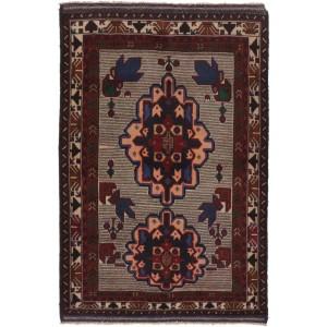 Afghan old Balutch Fine , 93 x 142 cm.