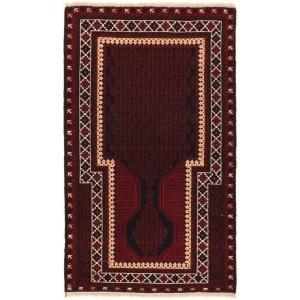 Afghan old Balutch Fine , 87 x 150 cm.