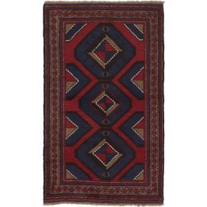 Afghan old Balutch Fine , 87 x 142 cm.