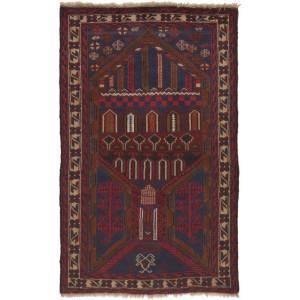 Afghan old Balutch Fine , 84 x 134 cm.