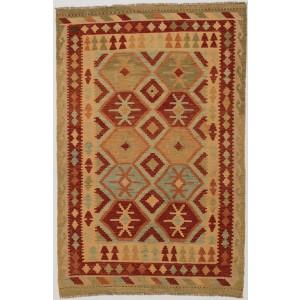 Afghan Kelim, 124 x 189 cm.