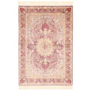 Ghom Silk, 101 x 146 cm.