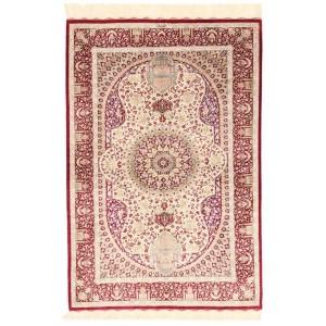 Ghom Silk, 98 x 146 cm.