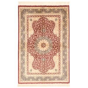 Ghom Silk, 98 x 147 cm.