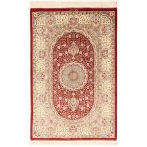 Ghom Silk, 96 x 144 cm.