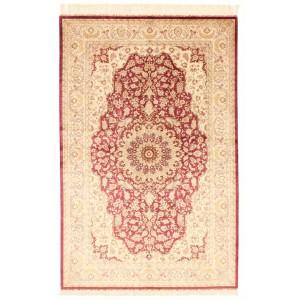 Ghom Silk, 132 x 201 cm.