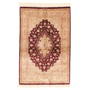 Ghom Silk, 100 x 149 cm.