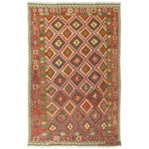Afghan Kelim, 195 x 299 cm.