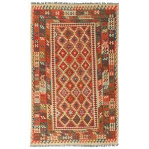 Afghan Kelim, 189 x 301 cm.