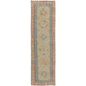 Old Afghan Kelim, 82 x 281 cm.