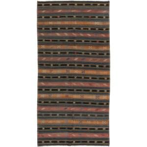 Kelim Old Fine, 164 x 334 cm.