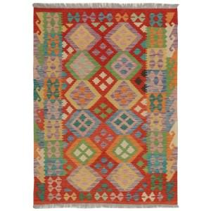 Afghan Kelim, 128 x 176 cm.