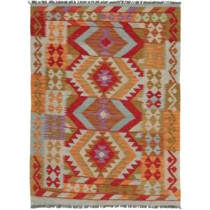 Afghan Kelim, 105 x 148 cm.