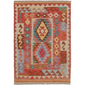Afghan Kelim, 101 x 145 cm.