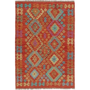 Afghan Kelim, 102 x 152 cm.