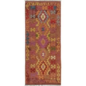 Afghan Kelim, 83 x 194 cm.