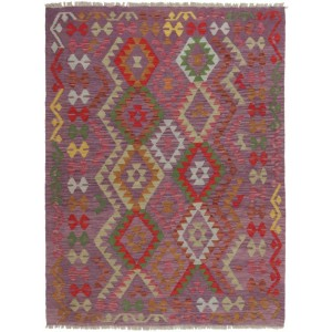 Afghan Kelim, 131 x 174 cm.