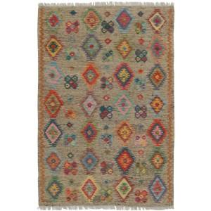 Afghan Kelim, 124 x 177 cm.