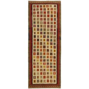 Kelim Old, 129 x 320 cm.