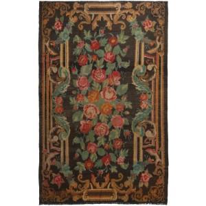 Rose Kelim Old, 202 x 300 cm.