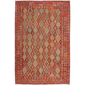 Afghan Kelim, 207 x 300 cm.