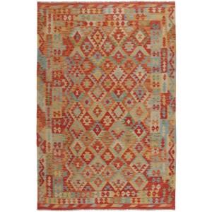 Afghan Kelim, 207 x 298 cm.