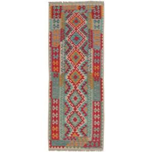 Afghan Kelim, 76 x 196 cm.