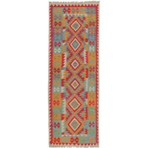Afghan Kelim, 73 x 200 cm.