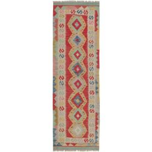 Afghan Kelim, 65 x 192 cm.