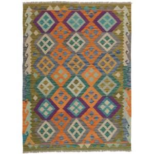 Afghan Kelim, 129 x 172 cm.