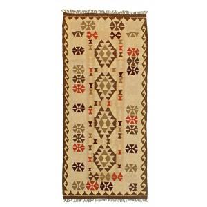 Old Afghan kelim 826510, 95 x 212 cm.