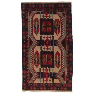 Afghan Old Balutch, 106 x 179 cm.
