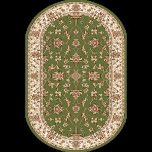 Begonia, Grøn, oval, Str. 100 x 180 cm.
