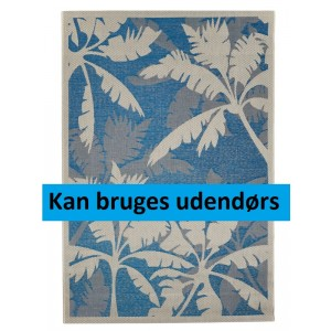 Palms Blue, udetæppe