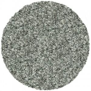 Starlight shaggy, Ø 200 cm. Antracit